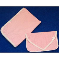 NuAngel Clutch and Go Changing Pad Set (Pink Gingham)