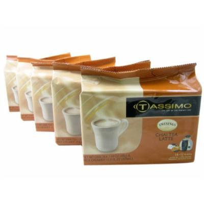 Tassimo T-Discs: Twinings Chai Latte T-Discs Pods (Case of 5 packages; 80 T-Discs Total)