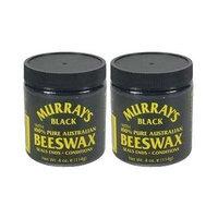 Murrays Black 100% Pure Australian Beeswax 4 Oz. (Pack of 2)