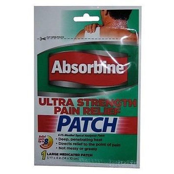 Absorbine Ultra Strength Pain Relief Patch (Pack of 5)