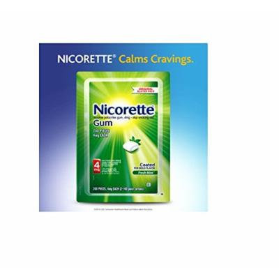 Nicorette Gum Fresh Mint 4 mg - 200 Count
