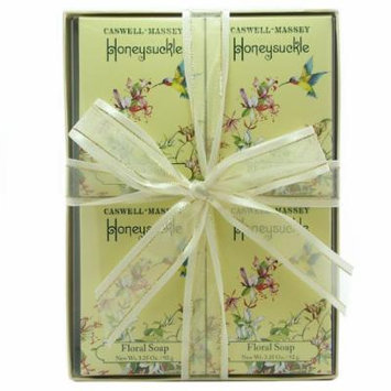 Caswell-Massey - Honeysuckle Floral Soap Set