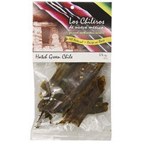 Los Chileros Whole Roasted and Dehydrated New Mexico Green Chile, 0.75 Ounce