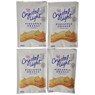 Crystal Light (Makes 2-Gallons) Pineapple Orange Drink Mix, 1.7-Ounce Packages (Pack of 4)