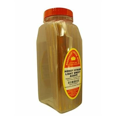 Marshalls Creek Spices Honey Straws, Light Sweet Agave, 8.82 Ounce