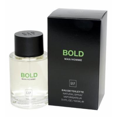 Gap Bold Eau de Toilette Spray for Men, 3.4 Ounce