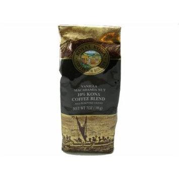 Royal Kona Coffee Vanilla Macadamia Nut (All Purpose Grind) - 7 oz
