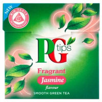 Pg Tips Fragrant Jasmine Smooth Green Tea 20 Pyramid Bags (Pack of 4)