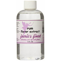 Faeries Finest Flavor Extract, Rum, 8.21 Ounce