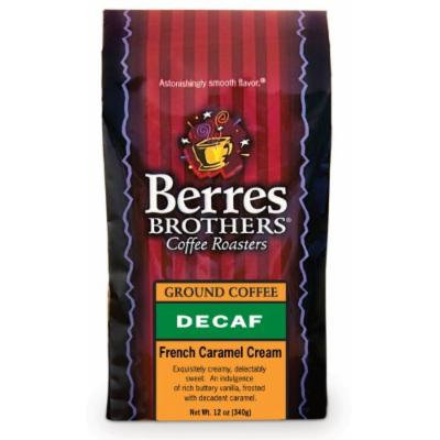 Berres Brothers French Caramel Cream Decaf Ground Coffee 12 oz.