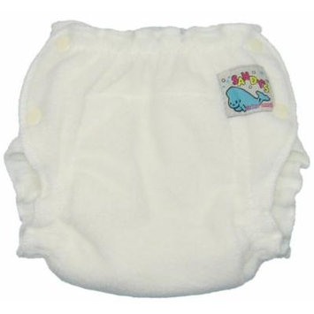 Mother-ease Sandy's Cloth Diaper (Large, White)