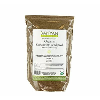 Banyan Botanicals Cardamom Powder - Certified Organic, 1 lb - Elettaria cardamomum - A common kitchen spice that supports healthy digestion