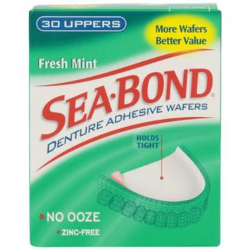 Sea-Bond Sea-Bond Denture Adhesive Wafers Uppers Fresh Mint (Pack of 2)