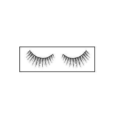 Reese Robert Sizzle Strip Lashes with Adhesive, Black