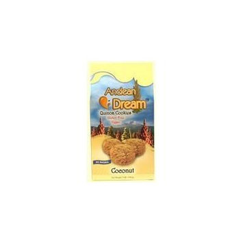 Andean Dream Quinoa Coconut Cookies Gluten Free 7 Oz (Pack of 6) - Pack Of 6