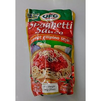 Ufc Spaghetti Sauce Sweet Filipino Style Pack of TWO 35 Oz a Pack