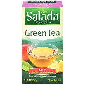 Salada Green Tea - Energy Pineapple Mango - 2 Pack