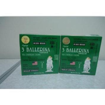 2 Boxs 3 Ballerina Dieter Tea Herb Slim Weight Loss Natural Green