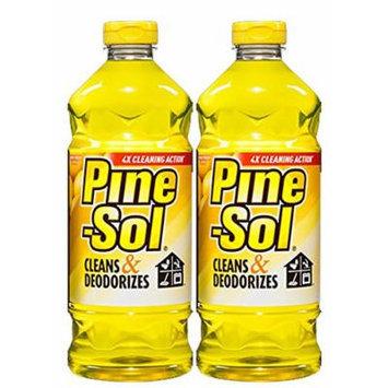 Pine-Sol® Lemon Fresh Multi-Surface Cleaner, Two 60oz Bottles