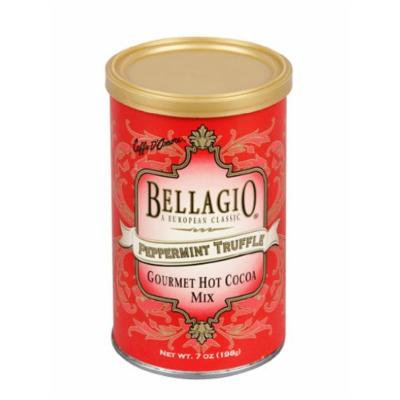 Bellagio Peppermint Truffle Cocoa, 7-Ounce (Pack of 4)