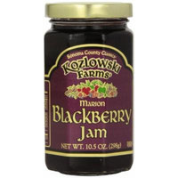 Kozlowski Farms Jam, Blackberry, 10.5-Ounce (Pack of 6)