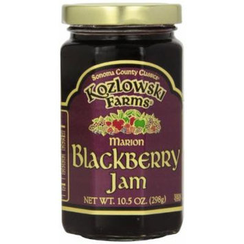 Kozlowski Farms Jam, Blackberry, 10.5-Ounce (Pack of 6)