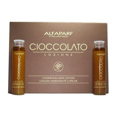 Alfaparf Cioccolato Hydrating Hair Lotion - 0.43 oz x 12 vials