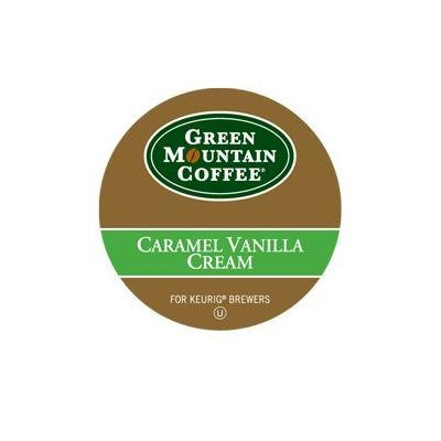 Green Mountain Caramel Vanilla Cream K-Cup For Keurig Brewers