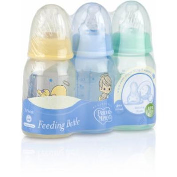 3-Pack 4oz. Round Tinted Printed Bottle (Pack Of 48)