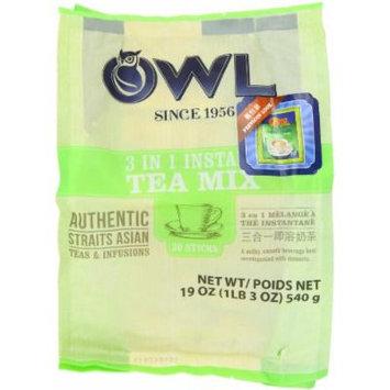 Owl Instant Milk Tea 3 In 1, 540-Grams (Pack of 3)