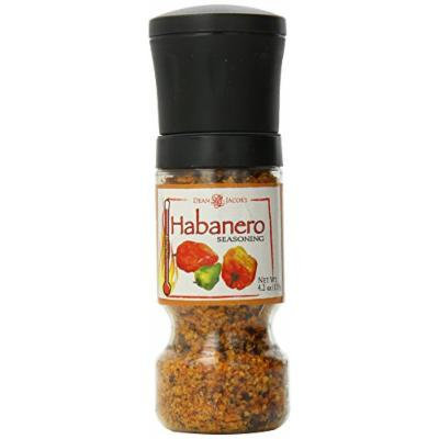 Dean Jacobs Gripper Grinder, Habanero Seasoning, 4.2 Ounce