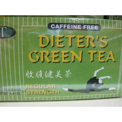 GTR - Caffeine Free Dieter's Green Tea (Pack of 1)