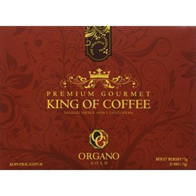 Organo Gold King of Coffee 25 Sachets