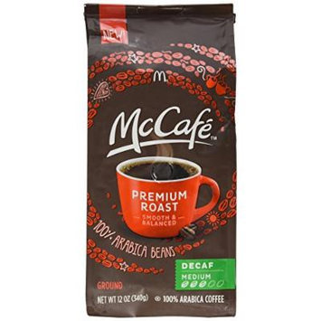 Mccafe Premium Roast Arabica Beans Decaffinated Medium Ground Coffee 12 Oz