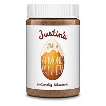 Justin's Almond Butter, Vanilla, 16 Ounce (Pack of 6)