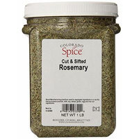 Colorado Spice Rosemary, Cut and Sifted, 16 Ounce