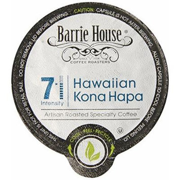 Barrie House Hawaiian Kona Hapa Single Cup Capsule, 24 Count