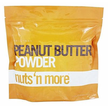 Nuts N More Powdered Peanut Butter Supplement, 10 Ounce