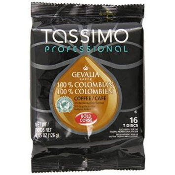 Tassimo Professional Gevalia 100% Colombian Coffee, 4.45 Ounce