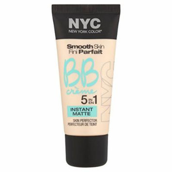 N.Y.C. New York Color BB Creme Foundation Matte, Light, 1 Fluid Ounce