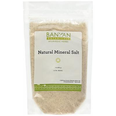 Banyan Botanicals Salt, Natural Mineral, 1 lb - Rock Salt - Stimulates digestion and promotes a healthy appetite