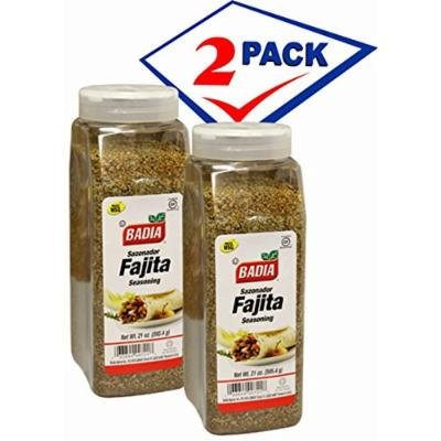 Fajita Seasoning by Badia 21 oz Jar. Pack of 2