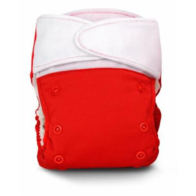 BabyKicks Basic Cloth Diaper Hook and Loop Closure, Poppy