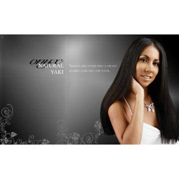 Onyx, 100% Elite Human Hair, Natural Essence Yaki, Affiliated with Black Diamond, 12