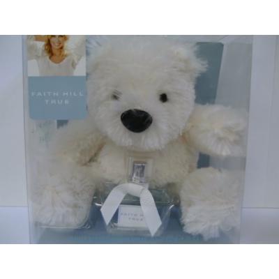 Faith Hill True Eau De Toilette and Plush Bear Gift Set