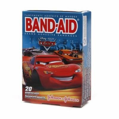 Band-Aid - Children's Adhesive Bandages, Disney Pixar Cars, Assorted Sizes 20 ea