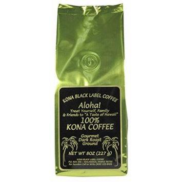 Black Label 100% Kona Dark Roast Ground