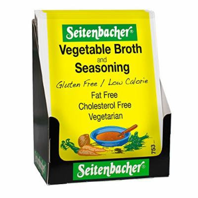 Seitenbacher Vegetable Broth Mix, 0.8-Ounce Packages (Pack of 12)