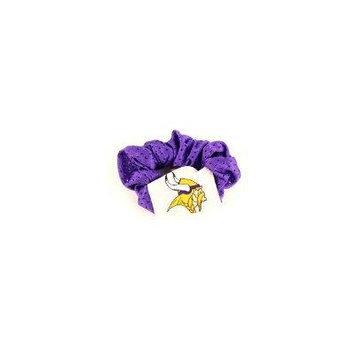 Minnesota Vikings NFL Jersey Hair Scrunchie (Purple)
