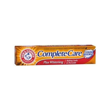 Arm & Hammer Complete Care Toothpaste Plus Whitening Baking Soda & Peroxide, Fresh Mint 6 oz